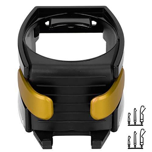 Omabeta Fácil de Desmontar Portavasos de Coche Material plástico Portavasos Soporte de Montaje para teléfono de Coche para Cocina DE Cocina EN CASA(Yellow)