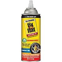 Fix-A-Flat S60410 Aerosol Tire Inflator with Eco-Friendly Formula