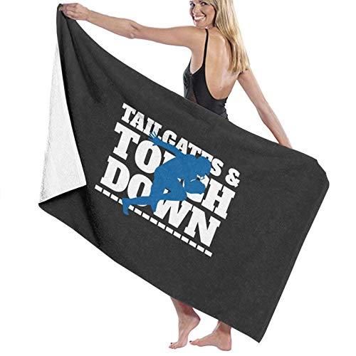 U/K Nfl Tailgate Toalla de baño de secado rápido