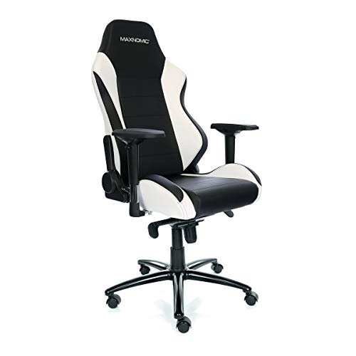 MAXNOMIC PRO-Chief (BWE (Black/White)) Premium Gaming Office & Esports Chair