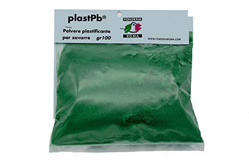 Fonderia Roma, Polvere plastificante plast pb Plastificazione, VERDE, 100 GR