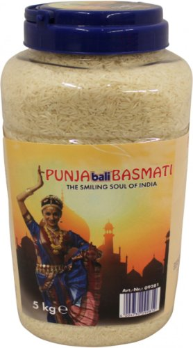 Bali PUNJABali Basmati Reis 5kg Spitzenqualität