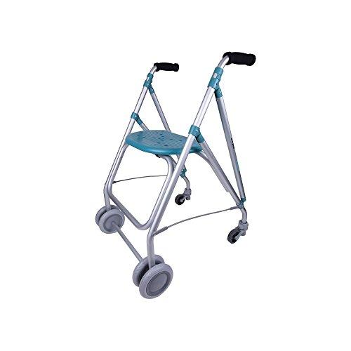 Forta fabricaciones - Andador de aluminio para ancianos ARA-PLUS - Esmeralda ⭐