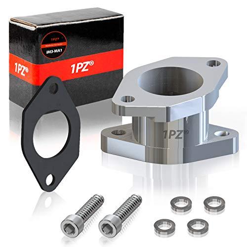 1PZ IM3-MA1 CNC 6061-T6 Aluminum Carburetor Intake Manifold Boot Joint For Yamaha Warrior YFM350 YFM 350 87-04 ATV Quad 4Wheeler