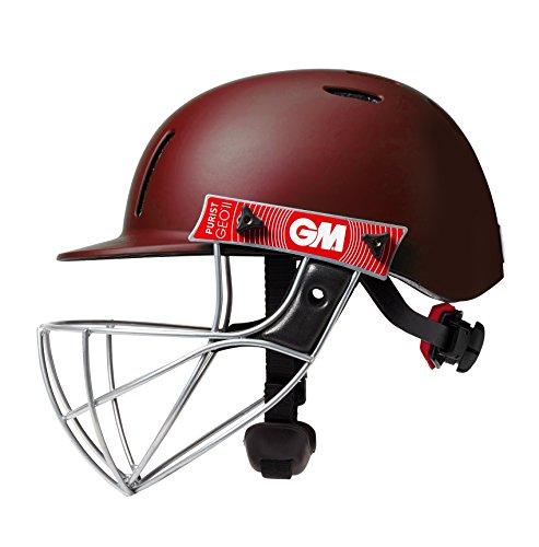 Gunn & Moore Kinder Purist Geo II Helmet Cricket-Helm, kastanienbraun, Small JOne sizeor