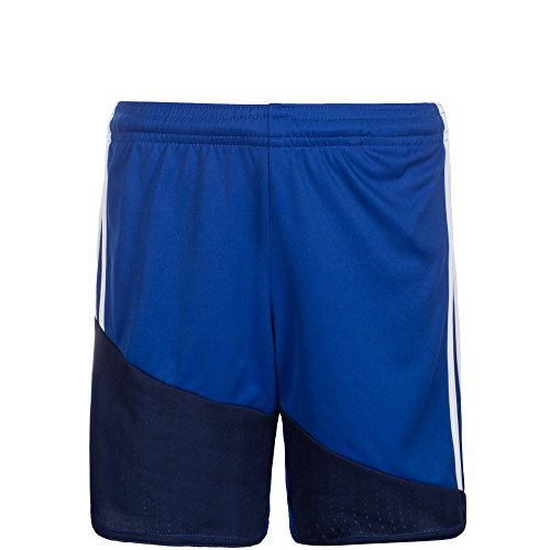 Adidas Regi 16 Sho Short Homme, Bleu/Blanc/Bleu Marine, FR : L (Taille Fabricant : L)