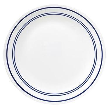 Livingware Classic Cafe 10.25  Dinner Plate [Set of 6] Color: Blue