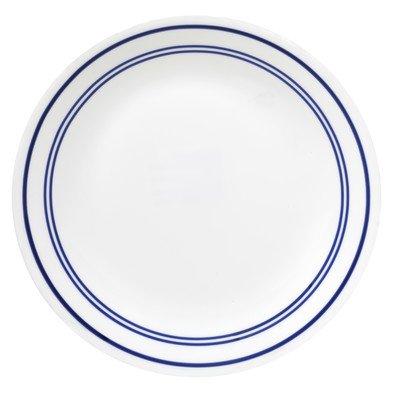 Livingware Classic Cafe 10.25' Dinner Plate [Set of 6] Color: Blue
