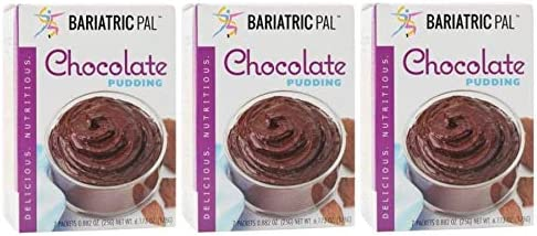 BariatricPal Protein Pudding Popularity - Double San Diego Mall Chocolate 3-Pack