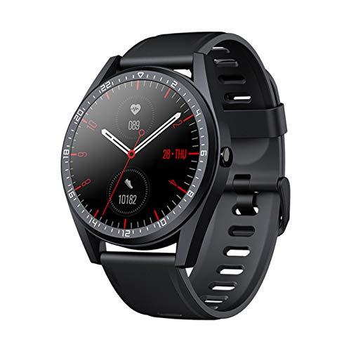 Smart Watch, 24-timmars hjärtfrekvens och blodtrycksövervakning Vattentät inbyggd GPS 5ATM E2 SPORTS Kompatibel med iOS och Android,C