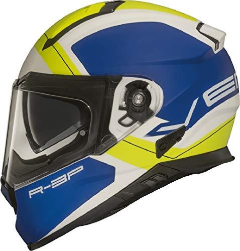 Vemar Zephir Mars Motorradhelm Blau/Gelb S