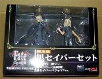 Fate stay night トレーディングフィギュア アーチャー+限定版黒セイバーセット+TYPE-MOON Collection遠坂凛 中袋