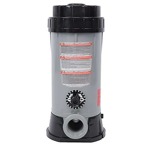 KUIDAMOS Alimentador automático de Productos químicos de 9L, 38,5x22,5 cm, alimentador automático de Cloro, alimentador químico de Cloro, clorador automático de Piscinas, para Piscinas domésticas