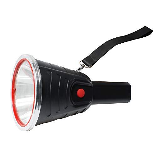 Eornmor Ultra Bright Handheld Spotlight 5000 Lumen Portable USB Rechargeable Searchlight High Power Flashlight Torch 15000 mah IP4 Waterproof Emergency Light for Outdoor 500m Super Long Beam Distance