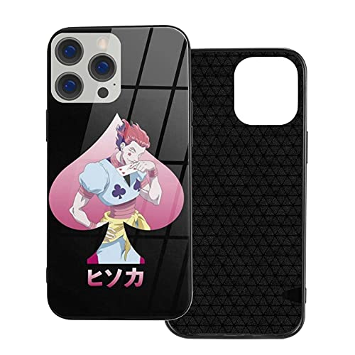 H X H Homme Hisoka Morow Novedad Japonés Anime Manga Regalo Merch Iphone 12 Carcasa de Cristal Ip12 Pro-6.1
