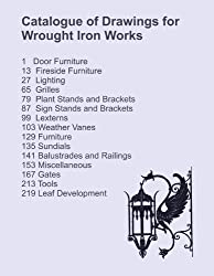 Catalog of Drawings for Wrought Ironwork