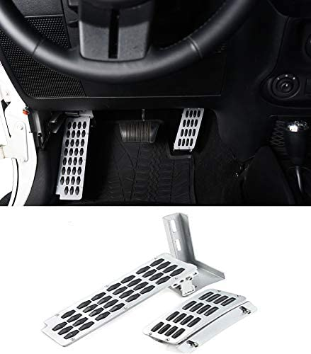Hooke Road Dead Pedal Gas Enhancement Extender Combo Kit for Jeep Wrangler JK Unlimited 2007 product image