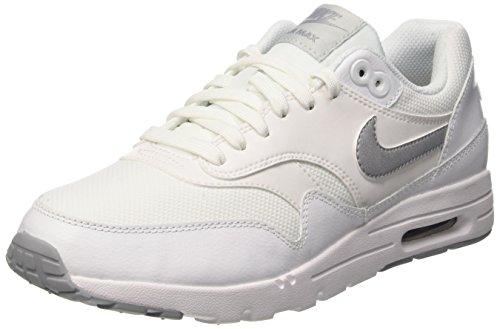 Nike Damen W Air Max 1 Ultra Essentials Turnschuhe, Weiß (White/Wlf Gry-Pr Pltnm-Mtllc S), 40 EU
