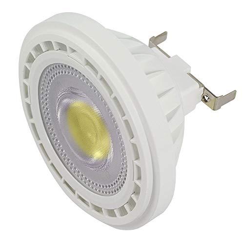 MENGS G53 AR111 LED Strahler COB 12W LED Leuchtmittel Ersatz für 95W Halogenlampen Kaltweiß 6000K AC 85-265V