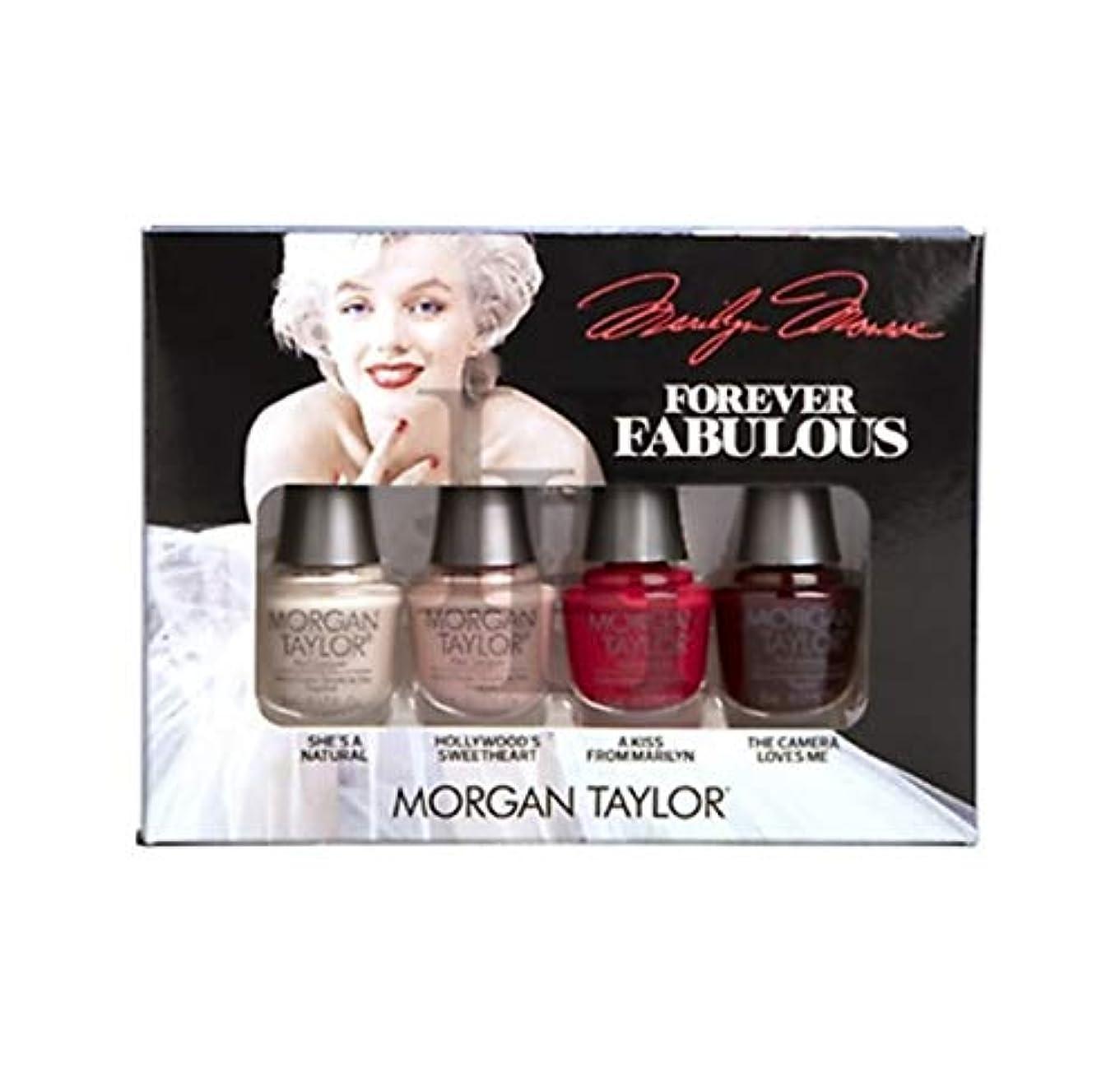 利益剣なめらかなMorgan Taylor - Forever Fabulous Marilyn Monroe Mini 4 Pack - 5 mL / 0.17 oz