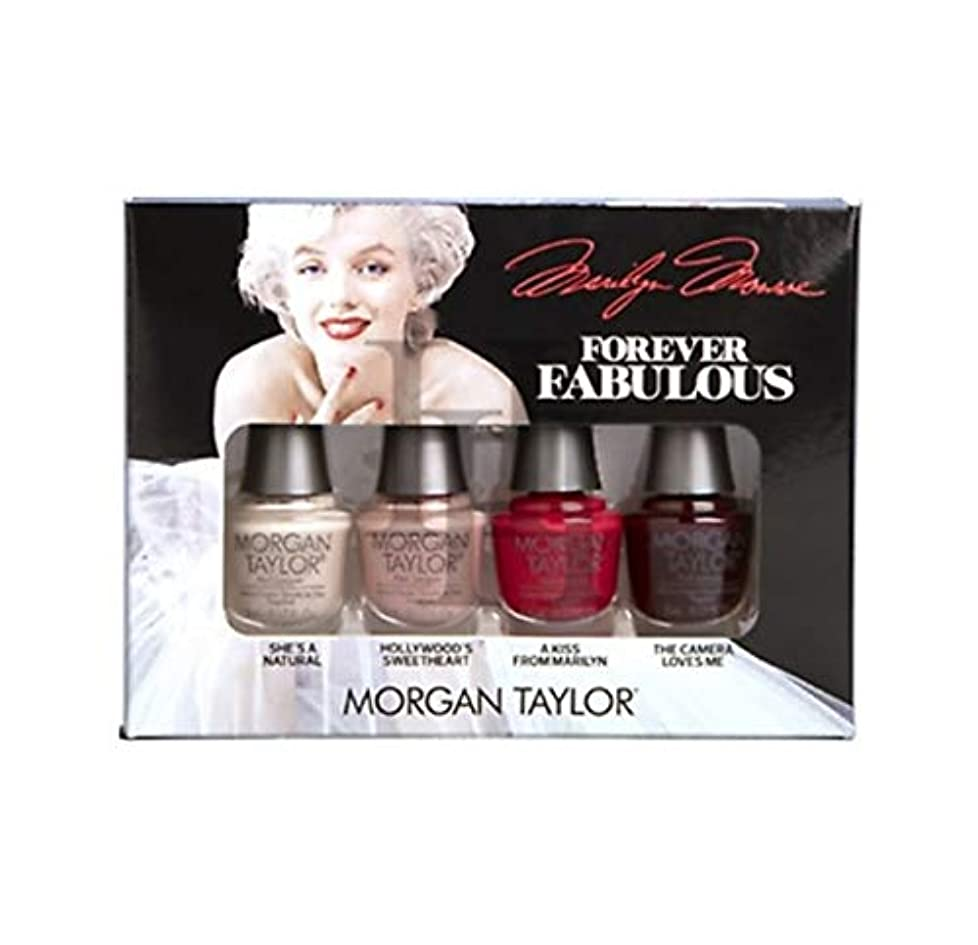 前お誕生日麻痺Morgan Taylor - Forever Fabulous Marilyn Monroe Mini 4 Pack - 5 mL / 0.17 oz