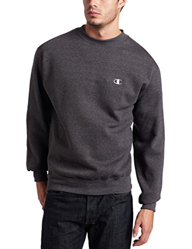 Champion Herren Pullover Eco Fleece Sweatshirt - grau - X-Groß
