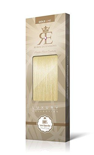 Extensions Cheveux Humains   Extensions de cheveux Frange   Cheveux Bangs Extensions   100% Remy Cheveux Blond Platine par Rubin Extensions