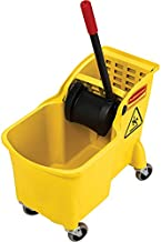 Rubbermaid Commercial 31 Qt. All-in-one Tandem Mopping Bucket