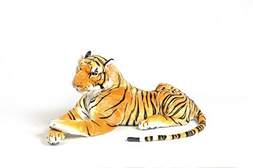 Très beau tigre en peluche de 115 cm de longueur (avec la queue).