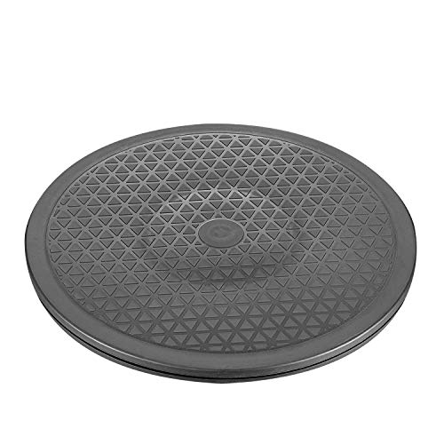 12 Inch Heavy Duty Rotating Swivel Stand with Steel Ball Bearings - Lazy Susan Turntable for Flat Panel Monitors, Potted Plants,TV's, Stereo Speakers (1 Pack)