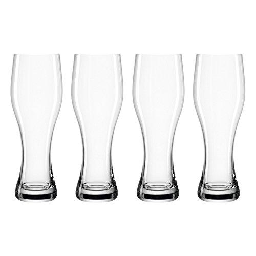 Leonardo - Weizenbierglas, Bierglas - TAVERNA - groß - 500 ml - 4 Gläser