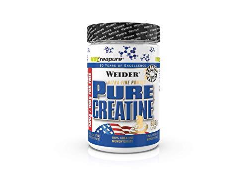 Weider Pure Creatine - Creapure Creatine monhydraat poeder 600 g, Fitness & Bodybuilding, 176 porties