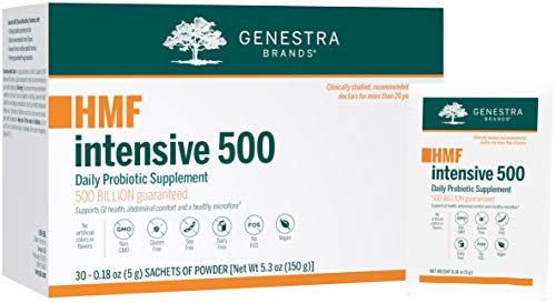 Genestra Brands - HMF Intensive 500 - Highly Concentrated Probiotic Supplement to Support Gastrointestinal Health - 30 Sachets