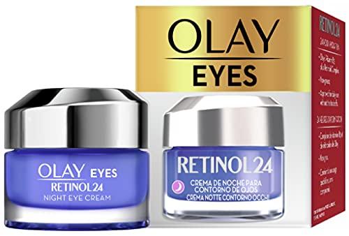 Olay/Olaz Regenerist Retinol24 Crema Notte Contorno Occhi Senza Profumo Per Una Pelle Liscia E Luminosa Con Retinolo E Vitamina B3 15ml