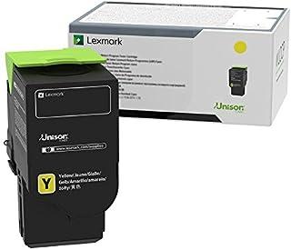 Lexmark C2310Y0 Yellow Return Program Cartridge Toner