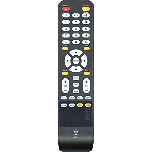 Westinghouse RMT-25 TV Remote Control Compatible with Westinghouse LCD LED TVs: DW32H3D1, DWM32H3D1, DWM40F1D1, EW40F1G1,DWM40F1G1, DWM40F2G1, EU40F1G1, CW50T9XW