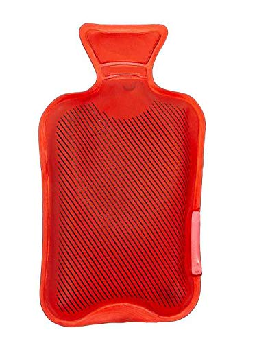 itsisa Taschenwärmer Wärmflasche, rot - Wichtelgeschenk, Handwärmer, Taschenheizkissen