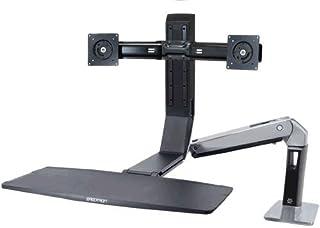 Ergotron WorkFit-A dwuosobowa deska robocza LCD do 61 cm 24 cali do 9,1 kg. Obciążenie podniesienia do 51 cm