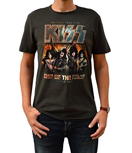 Amplified Kiss End of The Road Camiseta S