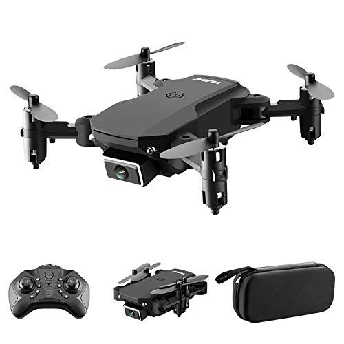 GoolRC S66 RC Drone con cámara 4K Drone Cámara Dual Posicionamiento de Flujo óptico WiFi FPV Drone Modo sin Cabeza Altitude Hold Gesture Photo Video Track Flight 3D FILP RC Qudcopter Bolsa portátil