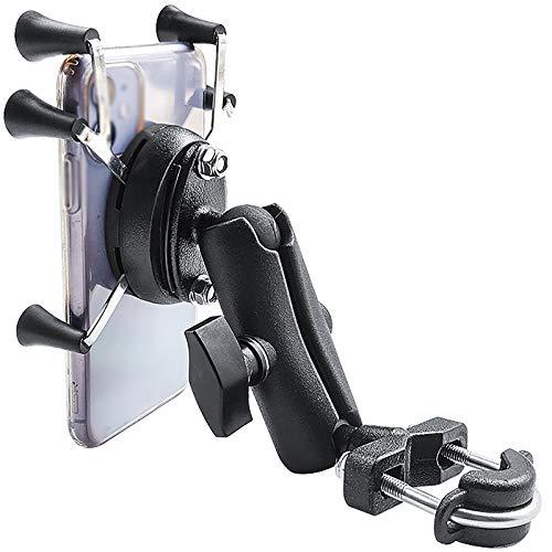 Fanuosuwr Accesorios Populares para Bicicletas Soporte de teléfono móvil de Coche Motocicleta Titular de teléfono móvil Bicicleta Tenedor de teléfono móvil Soporte para Teléfono Móvil