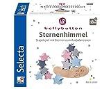 Selecta- Cielo estrellado, juguete apilable de madera, 12 piezas, Color carbón (Schmidt Spiele 64020) , color/modelo surtido