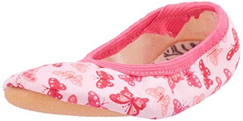 Beck Mädchen Papillon Gymnastikschuhe, Pink (Rosa 03), 27 EU