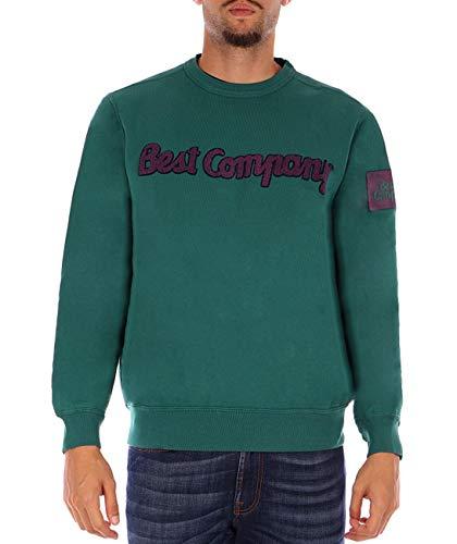 Best company Sweatshirt grün Crew XXL
