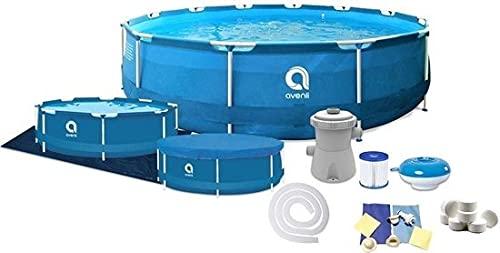 Avenli zwembad 366 x 76 cm met pomp – complete set