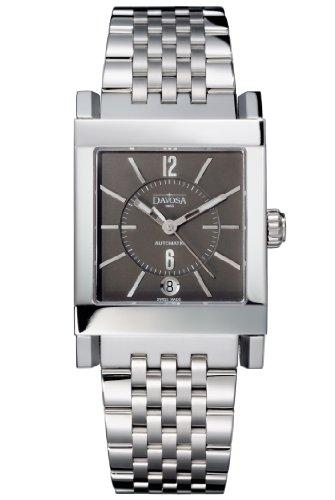 Davosa Herren-Armbanduhr Xagon Automatic Analog Automatik Edelstahl Silber 16149380