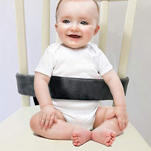 Cinghie per seggioloni, cinturino di sicurezza per bambini universale, imbracatura per seggiolone per neonati e bambini (Grigio)