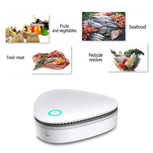 Generatore di ozono,mini ozono generatore portatile,purificatore aria ozono,purificatore ozonizzatore per auto,frigorifero,bagno