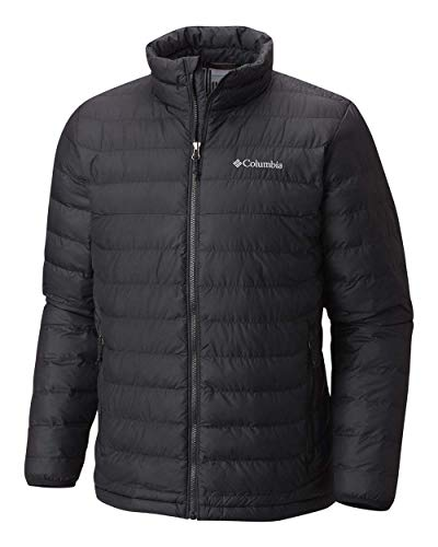 Tommy Hilfiger Men's Lightweight Water Resistant Packable Down Puffer Jacket (Standard and Big & Tall), Heathered Slate, Small