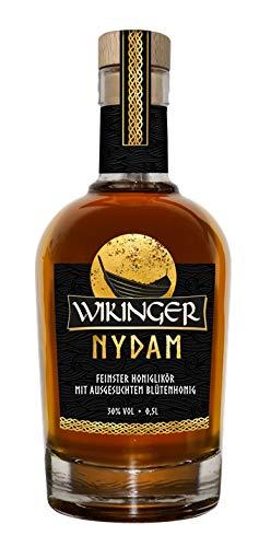 Wikinger Met Wikinger Nydam, Honiglikör, Mit Ausgesuchten Blütenhonig, 1 x 0.5l, 30% Honig (1 x 500 ml)